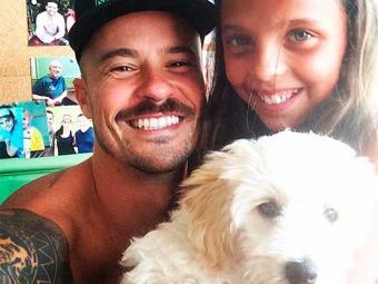 Paulinho Vilhena tem recebido o carinho das crianças por seu papel em