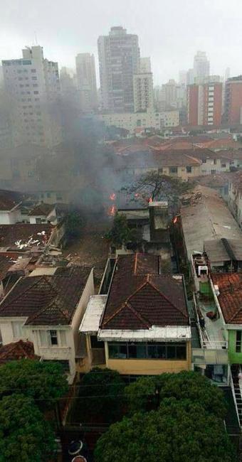 Campos morreu em 13 de agosto de 2014, quando seu avião caiu no Guarujá, em São Paulo - Foto: Reprodução   Facebook   Rafael Oliveira Augusto