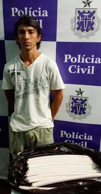 Sílvio é suspeito de fornecer explosivos para quadrilhas envolvidas em assaltos a agências bancárias - Foto: Divulgação   Polícia Civil