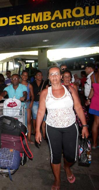 Passageiros não encontraram problemas na rodoviária - Foto: Margarida Neide   Ag. A TARDE