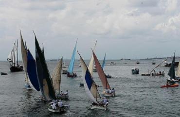 O percurso do tradicional evento vai desde o Farol da Barra até a Ponta de Humaitá - Foto: Mila Cordeiro | Ag. A TARDE