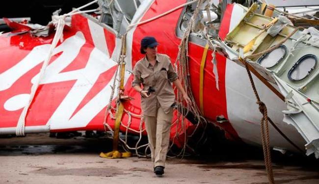 As caixas pretas da aeronave foram recuperadas e são analisadas - Foto: Agência Reuters
