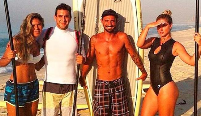 André Marques virou adepto das atividades físicas depois de perder mais de 50 quilos - Foto: Instagram | Reprodução