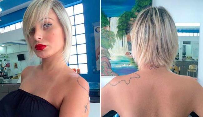 Andressa Urach deixou a tatuagem com o nome do filho visível - Foto: Arquivo Pessoal