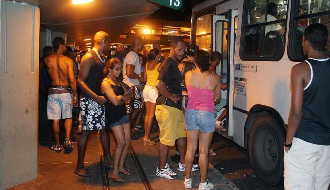 Aplicativo vai informar sobre linhas de ônibus para os foliões - Foto: Joá Souza | Ag. A TARDE