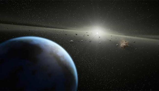 Apesar de ter o tamanho de um campo de futebol, asteróide não vai levar perigo à Terra - Foto: Divulgação