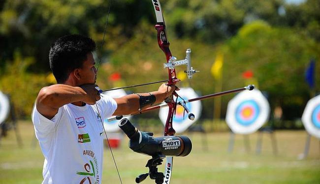 Tiro com Arco é uma das modalidades dos Jogos Pan-Americanos em julho - Foto: Tânia Rêgo | Agência Brasil