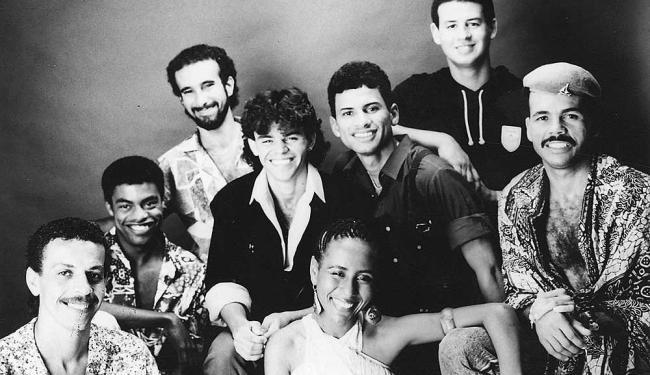O grupo foi um dos maiores sucessos da axé music - Foto: EMI | Divulgação | 24.01.88