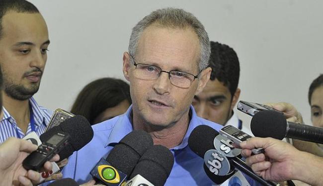 Beltrame anunciou exoneração do coronel Fábio Souza de Almeida, comandante do Batalhão de Choque - Foto: Tomaz Silva l Agência Brasil