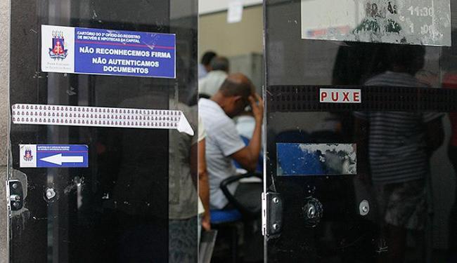 Cartório do 2º Ofício de Registro de Imóveis não terá expediente na quinta - Foto: Marco Aurélio Martins | Ag. A TARDE