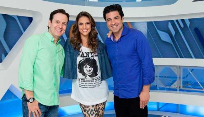 Celso Zucatelli, Chrys Flores e Eduardo Guedes não vão ter o contrato renovado com a Record - Foto: Divulgação