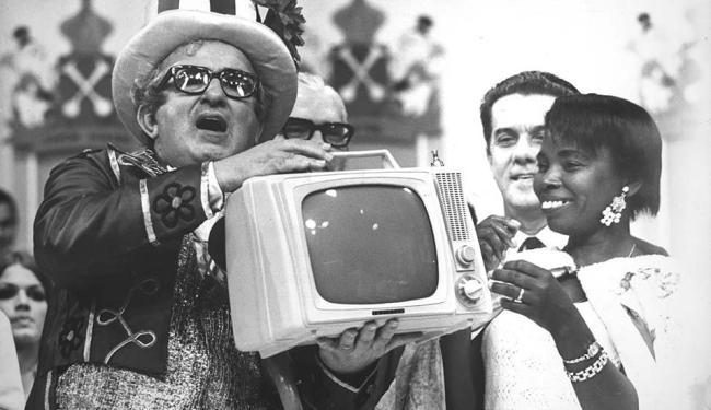 Sucesso de público, Chacrinha tornou-se ícone do entretenimento brasileiro - Foto: Divulgação