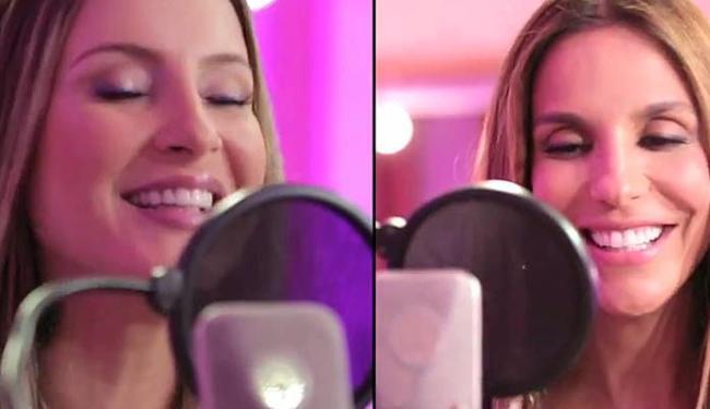 Música cantada por Claudia e Ivete foi criada por Carlinhos Browns - Foto: Reprodução | Youtube