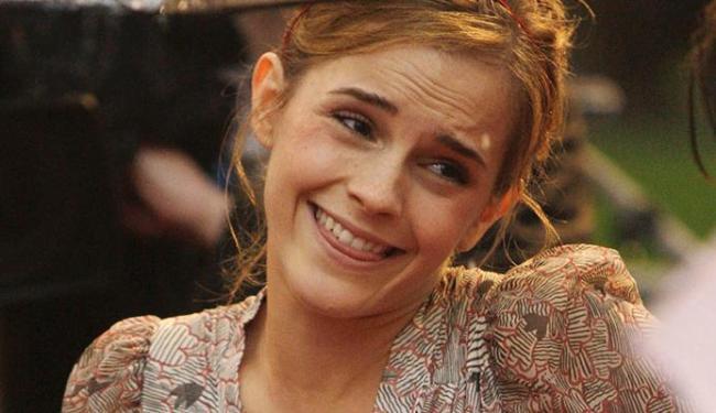 A atriz britânica fez um apelo aos rapazes para que saiam em defesa das mulheres - Foto: AP Photo/Joel Ryan