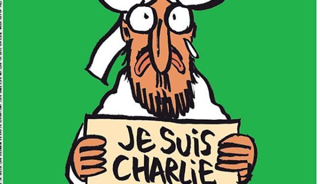 Detalhe da capa do próximo número do 'Charlie Hebdo' - Foto: Reprodução | Twitter Libération