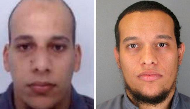 Há indícios suficientes para concluir que Kouachi (dir) foi um dos autores do atentado - Foto: Polícia da França