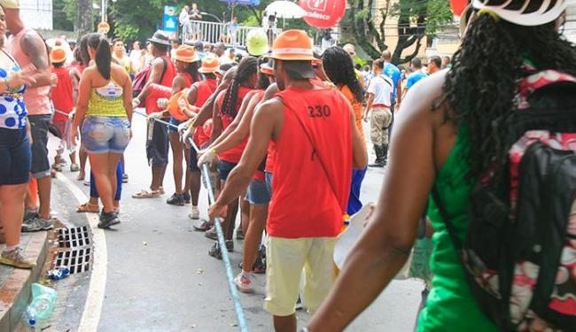 Entre as vagas, 250 são para a função de cordeiro - Foto: Joá Souza | Ag. A TARDE | 04/03/2014