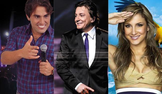Tayrone, Fábio Jr. e Claudia se apresentam em dias diferentes do Madre Verão - Foto: Reprodução   Facebook