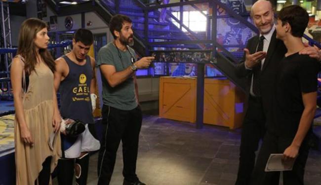 Bianca, Gael e Duca descobrem que Heideguer é pai de Henrique - Foto: Reprodução | GShow