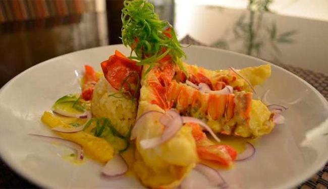 Caldinho de lagosta é uma das pedidas para a entrada - Foto: Divulgação