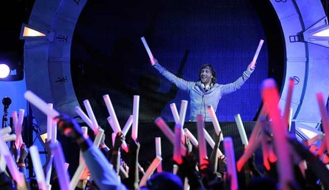 David Guetta vai relembrar sucessos no Parque de Exposições - Foto: AP Photo