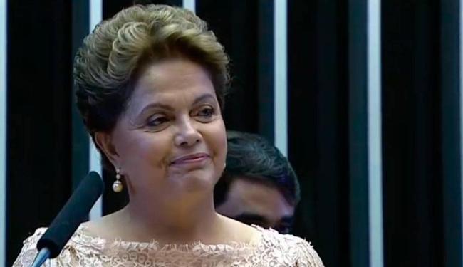 Dilma é empossada presidente no Congresso - Foto: Reprodução | TV Globo