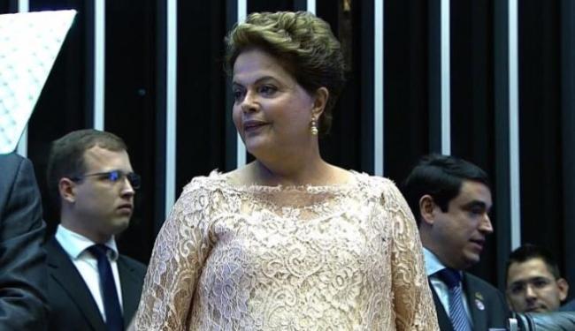 Presidente fala ao Congresso Nacional em cerimônia de posse em Brasília - Foto: Reprodução
