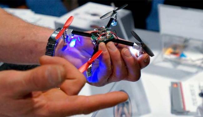 Drone foi mostrado na feira CES - Foto: Agência reuters
