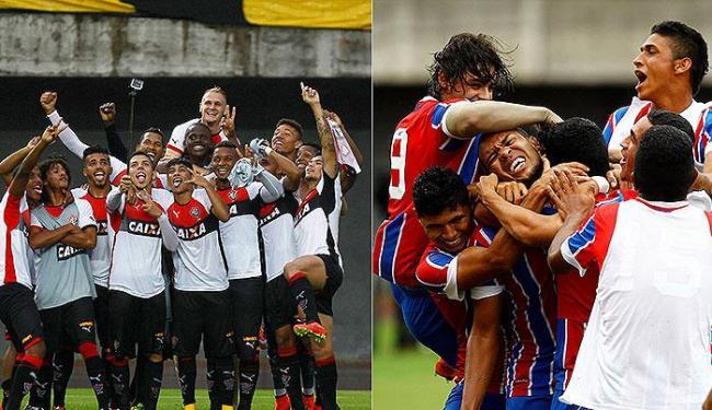 Após da boa campanha na Copa do Brasil sub-20, dupla Ba-Vi tenta título da Copinha inédito a ambos - Foto: Eduardo Martins l Ag. A TARDE