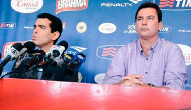 Novo diretor de futebol Alexandre Faria também foi apresentado - Foto: Reprodução   ECBahia