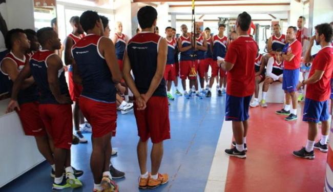 Os jogadores realizaram exames e treinos físicos - Foto: Divulgação | E.C.Bahia