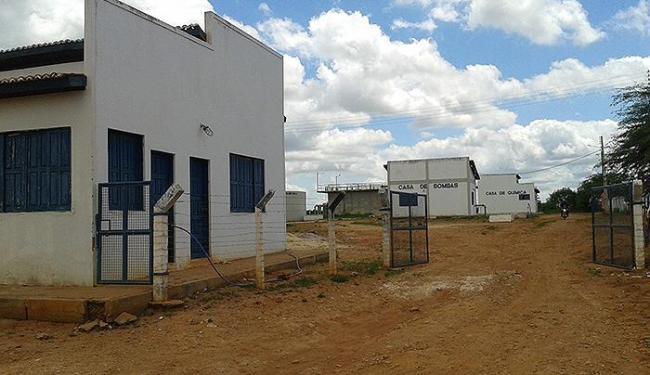 Escritório da Embasa em Ourolândia permanece vazio - Foto: José Percontine l Divulgação