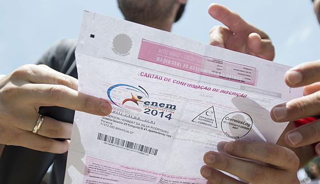 Em 2014, mais de 6,2 milhões de estudantes fizeram o exame em todo o país - Foto: Agência Brasil