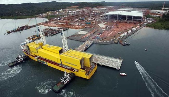 Investimentos no projeto somam R$ 2,7 bilhões - Foto: Lúcio Távora   Ag. A TARDE   24.2.2014