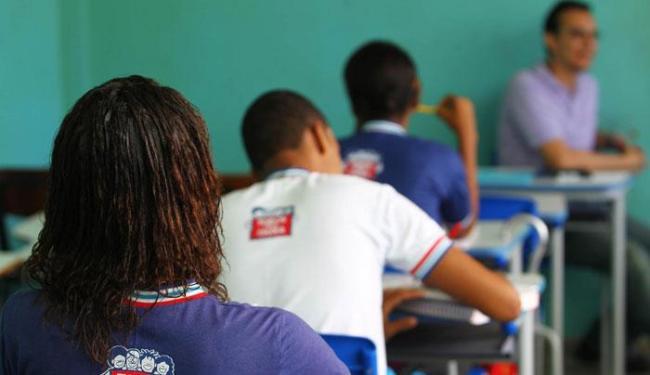 Estudantes da rede estadual retornaram às aulas nesta segunda - Foto: Carol Garcia   Secom