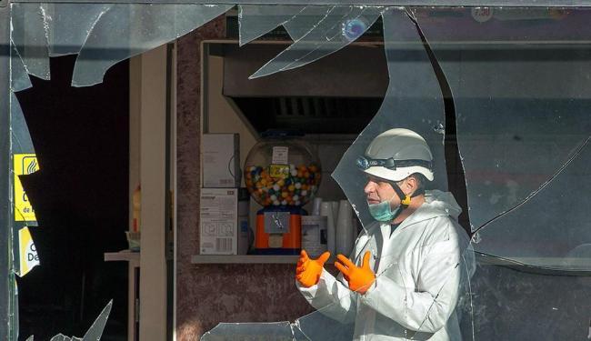 Explosão atingiu restaurante de kebab perto de mesquita no leste da França - Foto: Agência Reuters