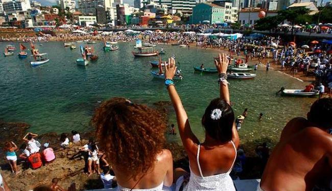 Homenagem à Rainha do Mar ocorre nesta segunda-feira, 2, no bairro do Rio Vermelho - Foto: Fernando Vivas | Ag. A TARDE