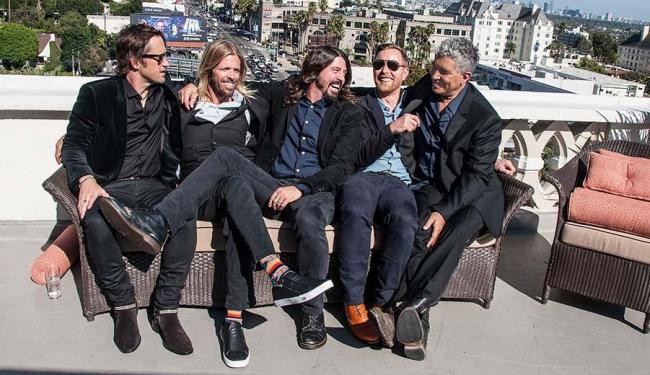 O grupo durante a gravação do episódio dedicado a New Orleans - Foto: Andrew Stuart | Divulgação