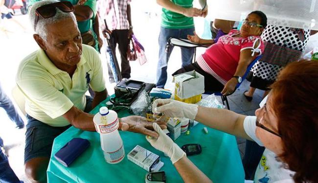 Projeto fará a medição da glicemia e aferição da pressão arterial gratuitamente - Foto: Fernando Vivas   Ag. A TARDE