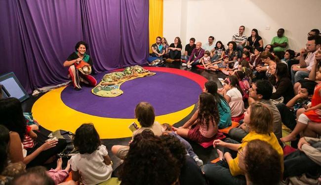 Os Tapetes Contadores de Histórias apresentam exposição, oficinas, encontro e rodas de leituras - Foto: Renato Mangolin | Divulgação