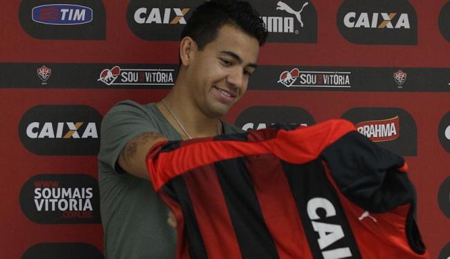 Saimon aguarda apenas o fim do contrato com o Grêmio, no final do mês - Foto: Lúcio Távora   Ag. A TARDE