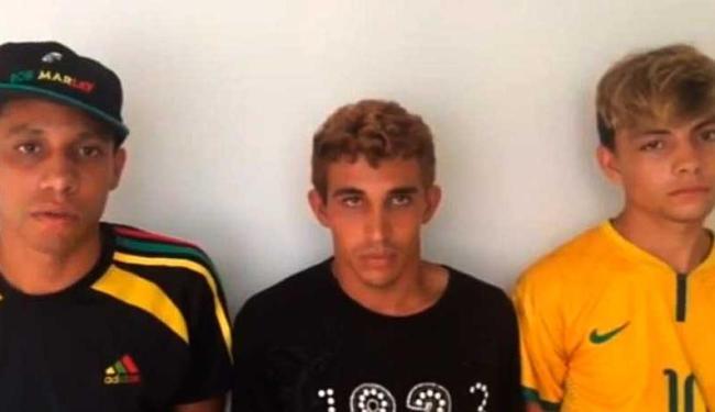 Jovens foram detidos, ouvidos e liberados - Foto: Reprodução | Youtube