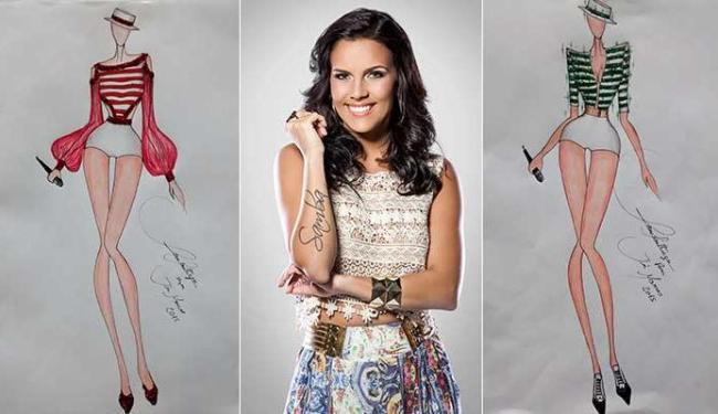 Ju Moraes vai vestir dois modelitos sensuais na folia - Foto: Divulgação