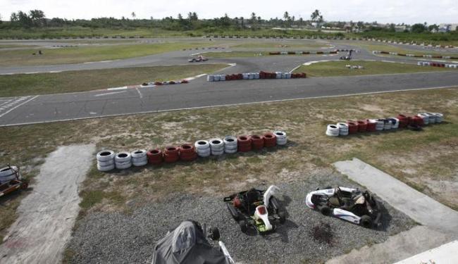 A pista não tem estrutura para boxes improvisados - Foto: Fernando Amorim | Ag. A TARDE