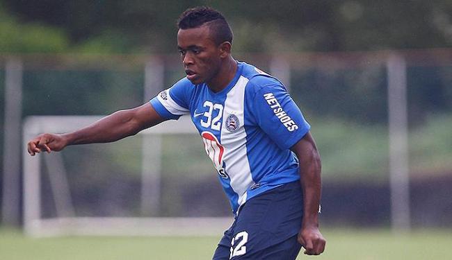 Promessa da base do Tricolor está na mira do Cruzeiro - Foto: Eduardo Martins   Ag. A TARDE