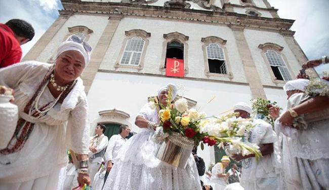 Alterações viabilizam a realização da tradicional Lavagem Bonfim - Foto: Edilson Lima | Ag. A TARDE