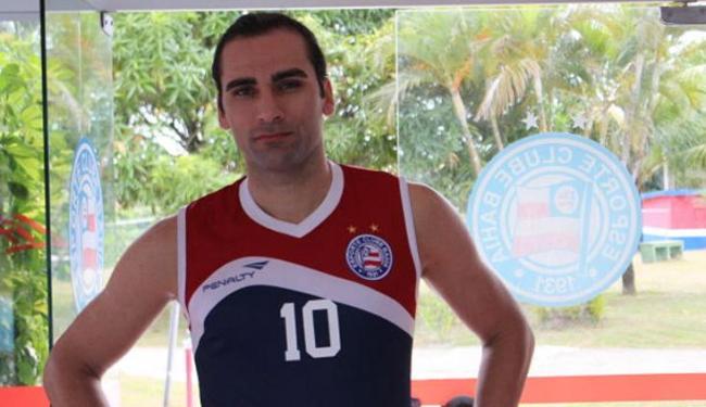 Gamalho, 28 anos, é uma das apostas do Tricolor para ser o atacante 'matador' - Foto: Divulgação | E.C.Bahia