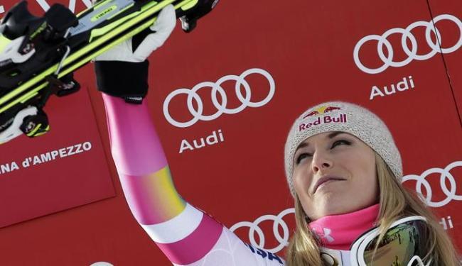 A norte-americana se tornou a atleta com mais títulos em etapas da competição - Foto: Max Rossi | Ag. Reuters