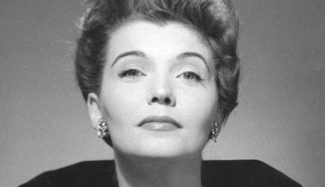 Maria Della Costa em 1956 - Foto: Chico Albuquerque | Museu da Imagem e do Som