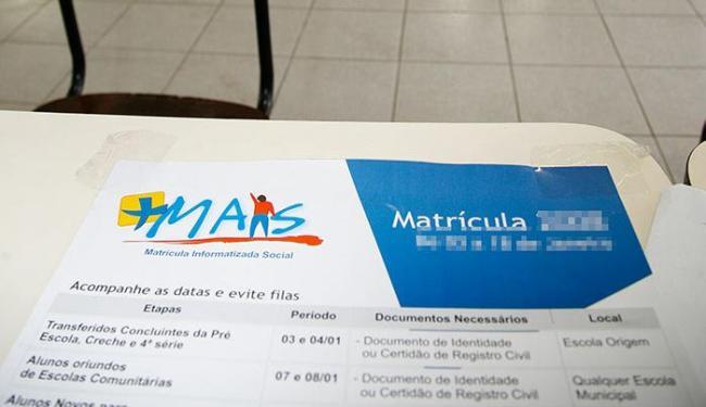 O período das inscrições terá início no dia 20 de janeiro de 2015 - Foto: Manuela Cavadas | Ag. A TARDE